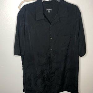 George button down shirt.  Black XLT size 46-48.